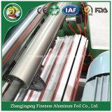 Papel y el PE del silicio del papel de aluminio que rebobinan y cortadora