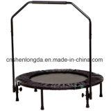 Rebounder/trampolín plegables de la aptitud del diámetro 40-Inch con la barra ajustable de la estabilidad