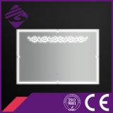 Jnh241 espejo montado en la pared decorativo del sensor del cuarto de baño de la venta caliente LED