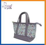 خاصّ بالأزهار نمو حقيبة يد طبعة مستحضر تجميل دقّق حقيبة مع [لورل]
