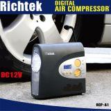 Gonfiatore automatico della gomma di Digitahi del compressore d'aria di preregolamento del Portable dell'automobile 12V