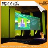 Facendo pubblicità allo schermo di visualizzazione dell'interno del LED di RGB P6 con il Governo del metallo per l'installazione fissa