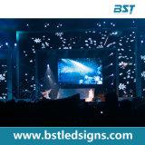 Bildschirm-Panel der kontrastreichen hohen Auflösung-P3.9 farbenreiches Innender miete-LED