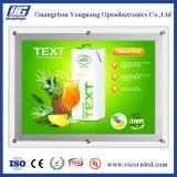 Hotsale : Cadre en cristal transparent latéral simple d'éclairage LED