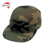 chapeaux plats de bord de 5panels Customed Camo