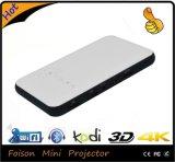 Mini Portable de Foison para el proyector del bolsillo 4k del teatro casero