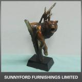 Figurine animale de la résine Sculpture/Resin de statue de cowboy de Polyresin