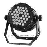 36pcsx3w高品質屋外段階のための防水LEDの同価ライト