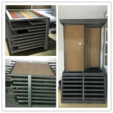 Sala d'esposizione di ceramica Metal Push e Pull Display Stand di Tiles