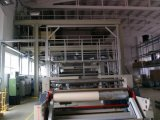 Equipamento dobro do Non-Woven dos PP Spunbond do feixe do estilo Jw3200mm do entalhe