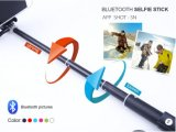 Camera Monopod Zoom (OM-RK85)를 가진 소형 Wireless Monopod Bluetooth Selfie Stick