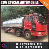 FAW 6X2 16tonの新しいミルクの輸送のトラックのミルクタンクトラック