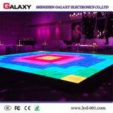Pantalla interactiva portable del LED Dance Floor para el alquiler, acontecimiento