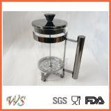Les Français noirs de la couleur Wschsy012 de cuivre appuient le générateur de café classique pour l'amoureux de thé et de café