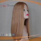 ブロンド22/24#薄い色の混合された高品質の人間の毛髪の上層のToupeeの部分