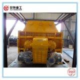 Planta de mezcla de procesamiento por lotes por lotes del concreto del PLC 90 M3/H de Siemens con el silo empernado