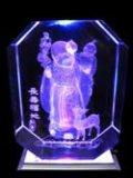 Nul Machine van de Gravure van de Laser van het Tekort 3D voor Diamant/Acryl
