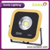 正方形の黄色い黒150W IP67 LEDの洪水の照明(SLFO115)