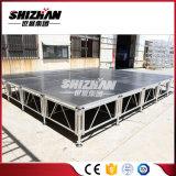 Fácil ensamblar el braguero de aluminio del suelo del acontecimiento de la boda del concierto