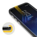 Het Geval van de Telefoon van het Pantser van Easyacc voor de Melkweg van Samsung S8 plus