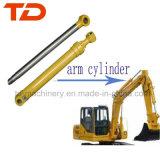Lagarta hidráulica/cubeta do conjunto cilindro do petróleo/braço/cilindro do crescimento para as peças Earthmoving