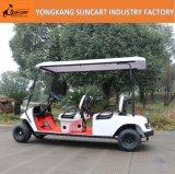 приведенная в действие батарея 48V - и автомобиль гольфа мест 3-4 электрический для пользы парка