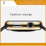Стильная трудная гальванизируя защитные раковина крышки серии 2 Iwatch вахты Apple аргументы за цветастая 38 mm 42 mm улучшает бампер цвета спички 4