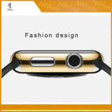 Apple 시계 Iwatch 시리즈 2 다채로운 덮개 쉘을%s 유행 단단한 전기도금을 하는 방어적인 상자는 38 mm 42 mm 일치 4 색깔 범퍼를 완전히 한다