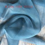 ткань 14mm 100% естественная Silk Georgette для платья венчания