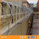 Barbelé galvanisé Chaud-Plongé de rasoir pour la frontière de sécurité