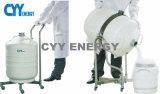 Contenedores de pequeña capacidad portátiles/el tanque del Dewar del nitrógeno líquido/del Dewar del nitrógeno líquido