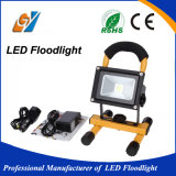 Reflector portable y recargable IP65 de 30W LED impermeable