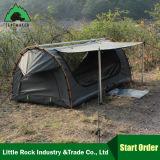 Doppelter Segeltuchswag-hochwertiger wasserdichter Lichtschutz-kampierendes Zelt