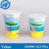 冷たいミルクセーキの飲み物のための二重PEの使い捨て可能な紙コップ