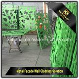 Panneaux en aluminium de façade colorés par PVDF de matériau de construction pour le revêtement de mur de construction