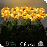 Lumière de tournesol de la fleur DEL d'éclairage de décoration de vacances