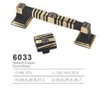 Tirón de cobre amarillo antiguo de la maneta de la cabina del tirón de la maneta 2016 (6033)