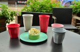 Bamboo чашка волокна с Eco-Friendly (YK-BC4053)