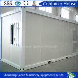 쉬운 회의 가벼운 강철 구조물의 이동할 수 있는 모듈 콘테이너 집
