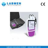 Mètre portatif d'ion de multiparamètre avec le stockage de données