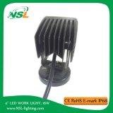 4 '' 16W E-MARK Luz del trabajo del LED, luz de conducción Offroad impermeable, ATV, carro, accesorios del coche del jeep