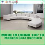 Schwarze Farben-Italien-lederne Wohnzimmer-Couch