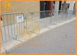 Панель загородки металла контроля над трафиком качества временно Горяч-Окунутая гальванизированная