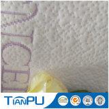 Tissu de coutil de matelas tricoté par palier royal de latex de Tencel de type de la Thaïlande