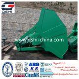 A parte superior elétrica hidráulica da máquina escavadora da alta qualidade luta