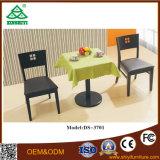 Mobília barata da tabela de tabela de jantar e de jantar das cadeiras e das tabelas de jantar das cadeiras