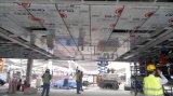 Добавочная панель PVDF алюминиевая составная (серебряный проект PF-421)