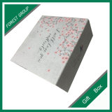 주문을 받아서 만들어진 로고 접히는 상자를 인쇄하는 꽃