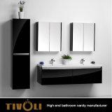 Unità bianche lucide di vanità della stanza da bagno da vendere Tivo-0004vh