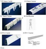 ISO9001工場価格ISO9001のキャリアのハンガークランプ/Lay-inのパネルまたはCeilの天井等クリップのアルミニウムのためのアルミニウム天井の金属のアクセサリ